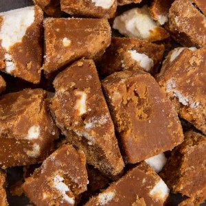Eton Mess Fudge