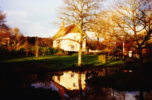 The 16th century thatched cottage where Roly's Fudge began