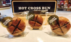 Salcombe Hot Cross Bun