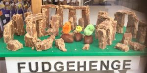 Salsibury Fudgehenge Gets Eastery