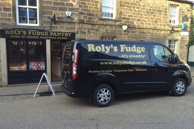 Van at Bakewell Shop