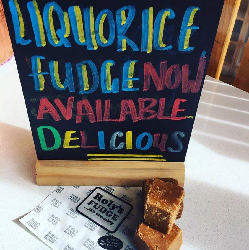 Bakewell - Liquorice Fudge