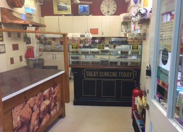 Roly's Fudge Barnstaple - inside