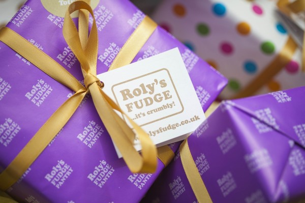 Box of Roly's Fudge