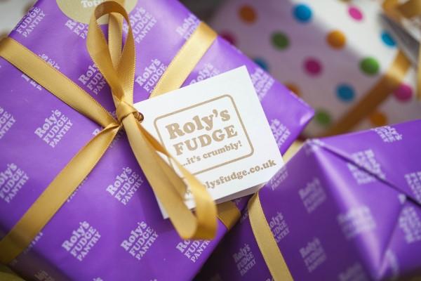 Box of Roly's Fudge