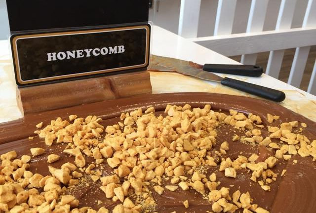 Honeycomb at Roly's Fudge Dartmouth