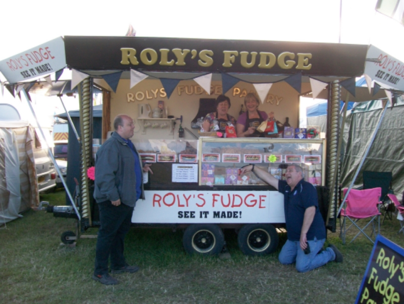 Probably the best fudge at the Great Dorset Steam Fair!
