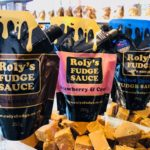 Fudge Sauce all three