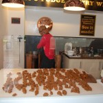 Fudge being made in Weymouth
