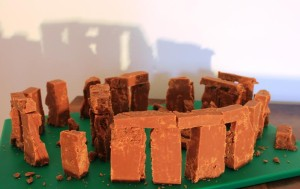 Fudgehenge for National Fudge Day