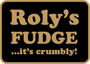 Roly's Fudge logo