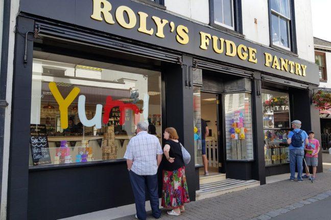 Roly's Fudge Looe