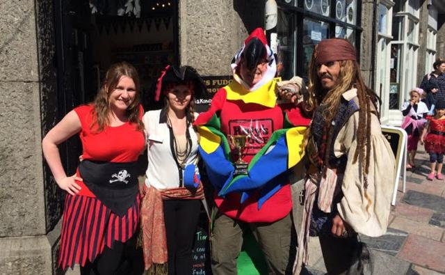 Pirates Competition at Roly's Fudge Plymouth