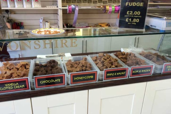 Fudge at Roly's Torquay