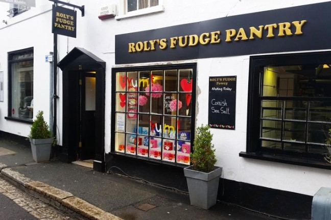 Roly's Fudge Fowey, based in Cornwall
