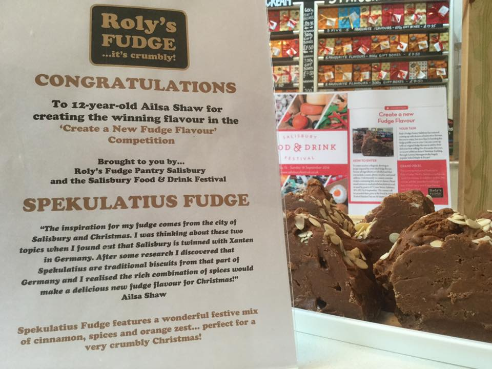Salisbury Fudge competition