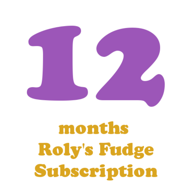 12 months fudge subscription