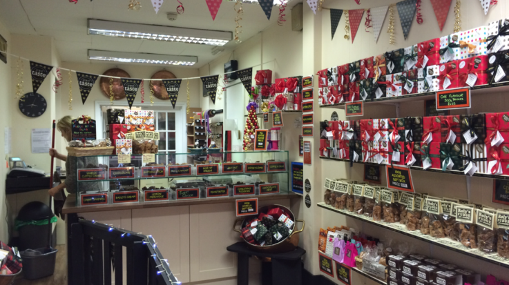 Roly's Exeter - Inside the shop