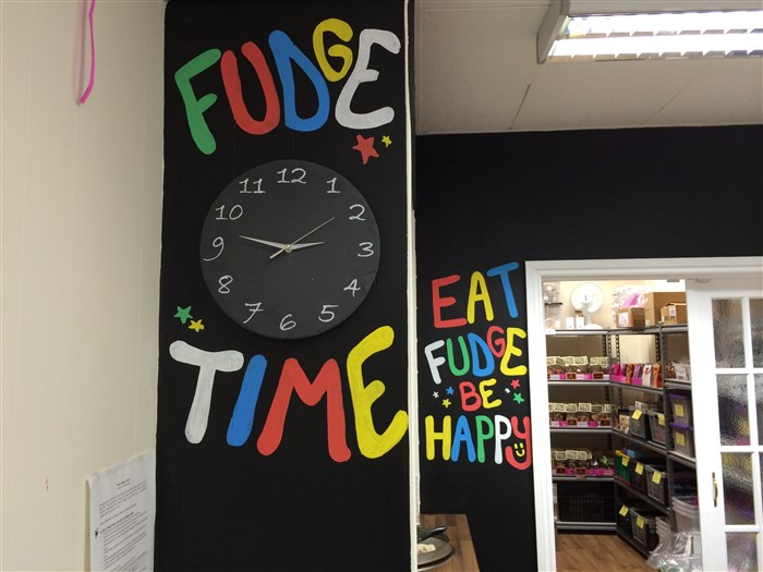 Fudge time at Roly's Exeter