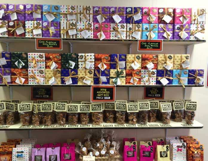 Roly's Exeter Fudge Display