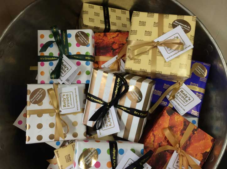 Roly's Exeter Fudge Boxes