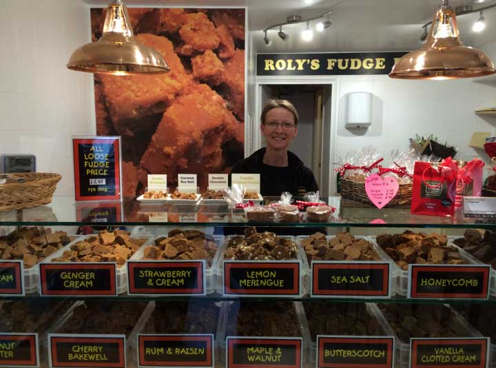 Shelly at Roly's Polperro