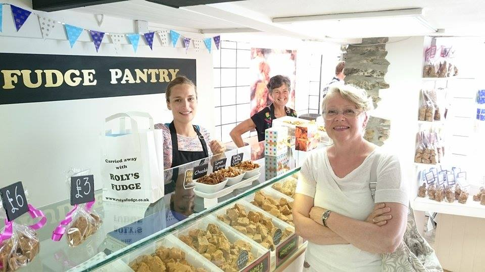 The Fowey shop from inside