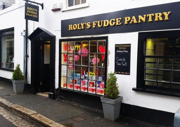 Roly's Fudge Fowey, based in Cornwall