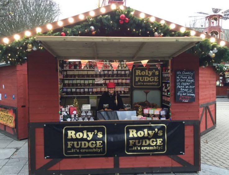 Roly's Fudge at Plymouth