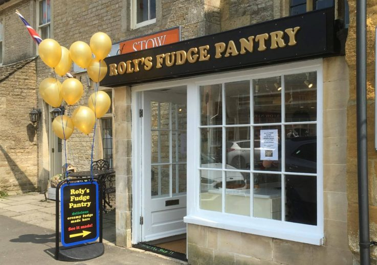 Roly's Fudge at Stow-on-the-Wold