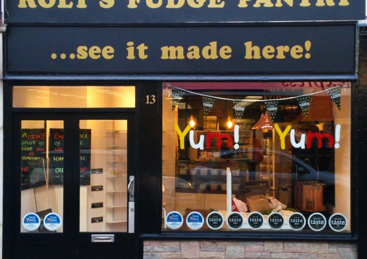 Roly's Fudge Exmouth