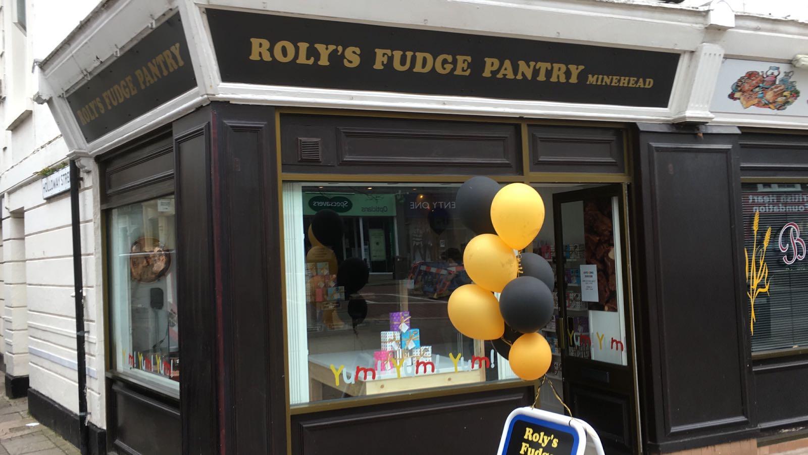 Roly's Fudge Minehead