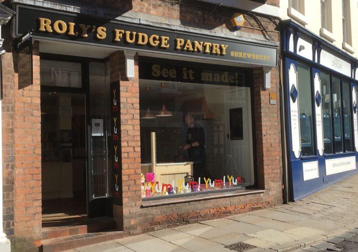 Roly's Fudge Shrewsbury