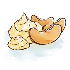 Peaches and Cream Fudge