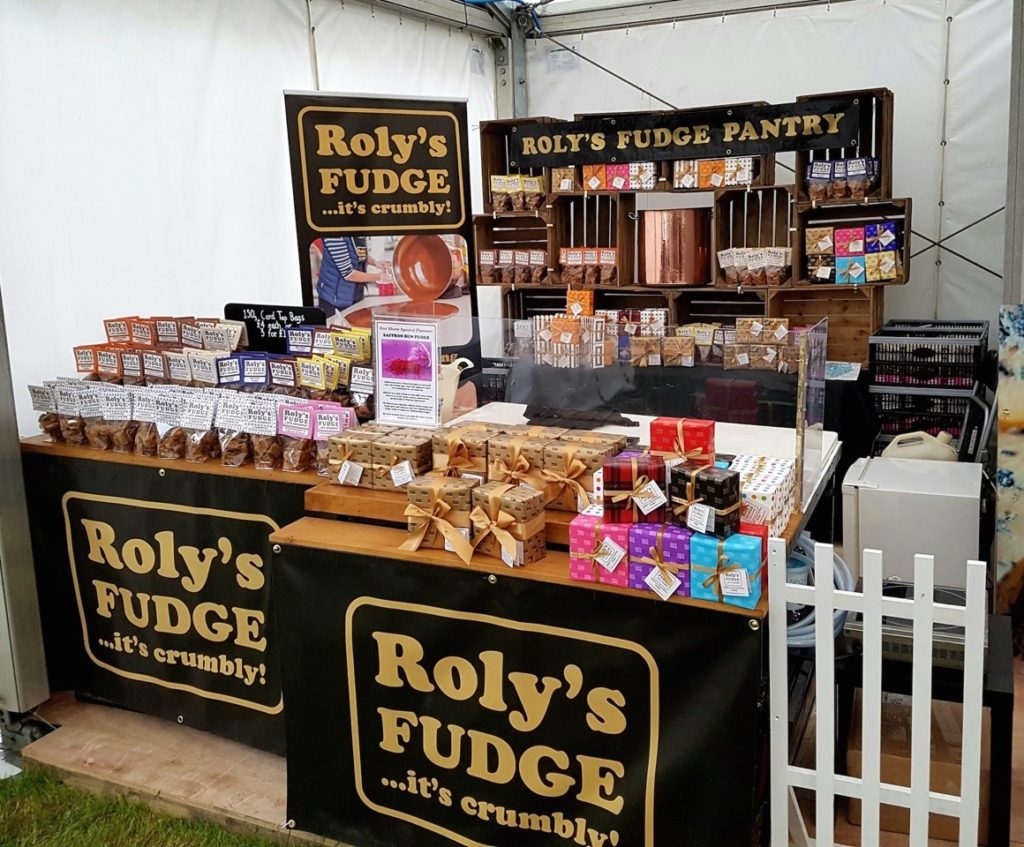 Roly's Fudge will be exhibiting at the Great Dorset Steam Fair