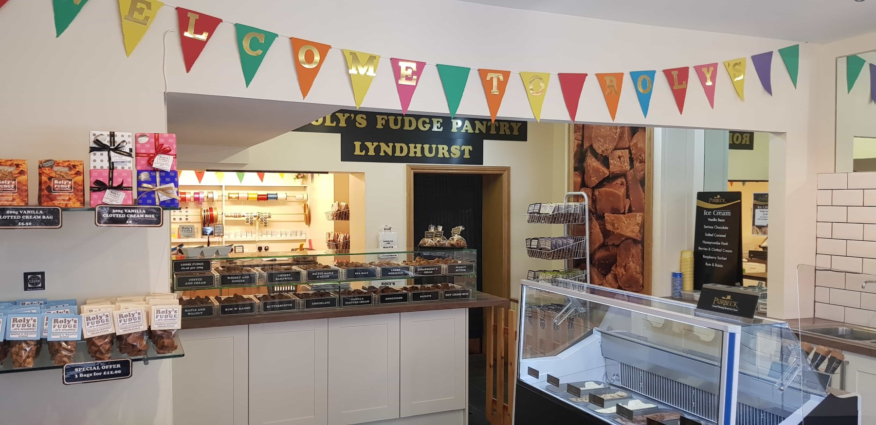 Roly's Fudge Lyndhurst