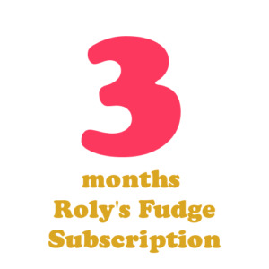 3 months fudge subscription