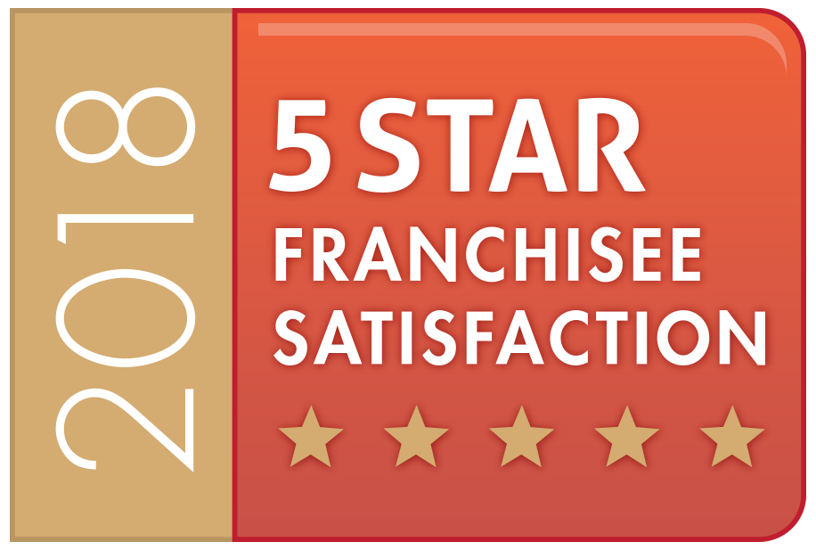 5 Star Franchise Satisfaction Badge