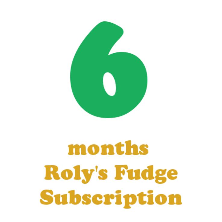 6 months fudge subscription