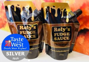 Roly's Chocolate Fudge Sauce wins Taste of the West SILVER
