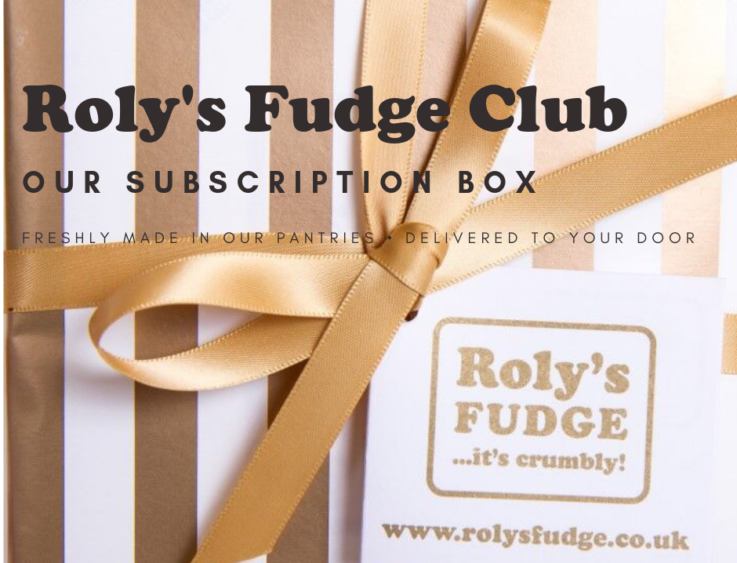 Roly's Fudge Subscription Box