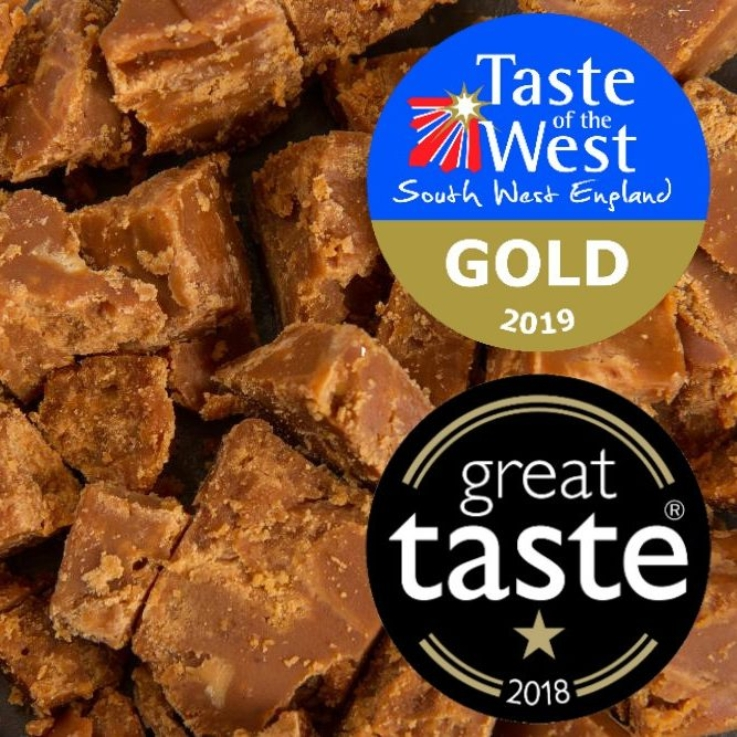 Award-winning Sea Salt Fudge