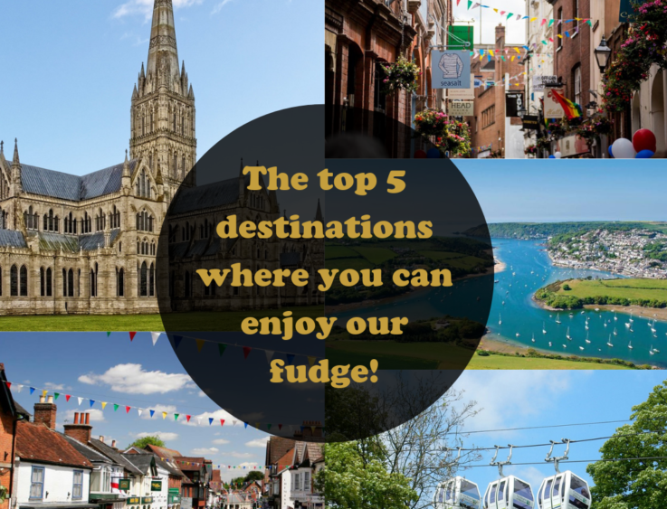 The top 5 places where you can enjoy our fudge!