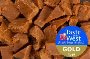 Vanilla Clotted Cream Fudge wins GOLD at Taste of the West