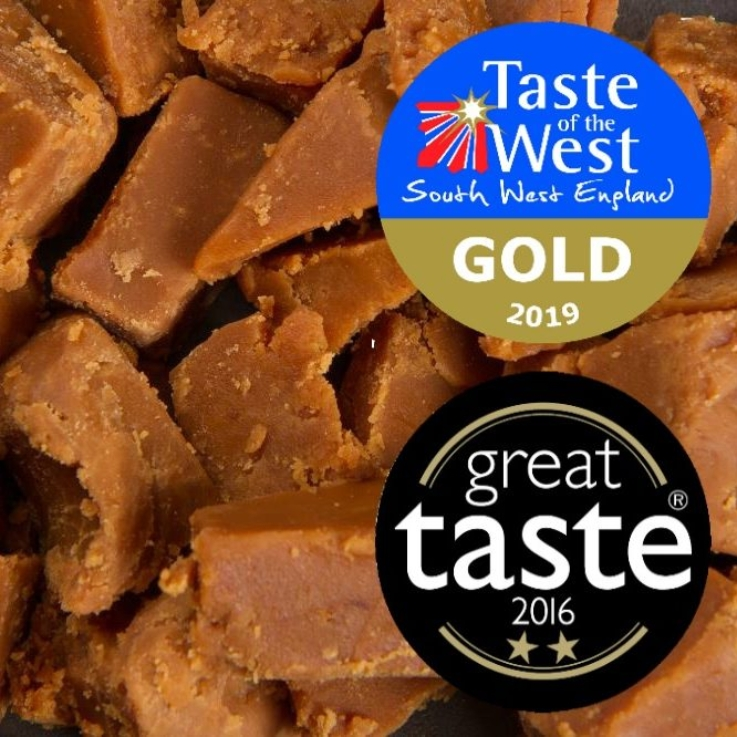 Award-winning Vanilla Clotted Cream Fudge