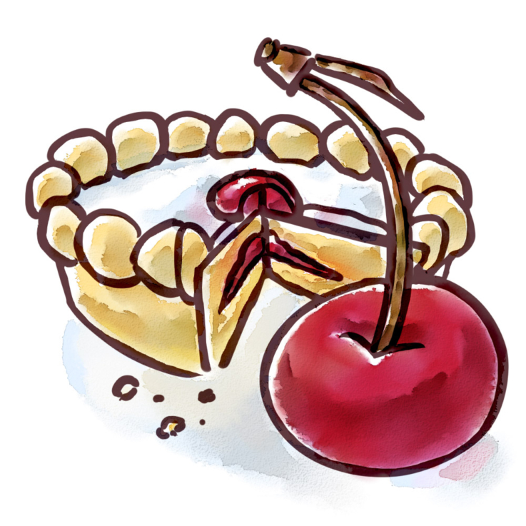 Roly's Cherry Bakewell Fudge