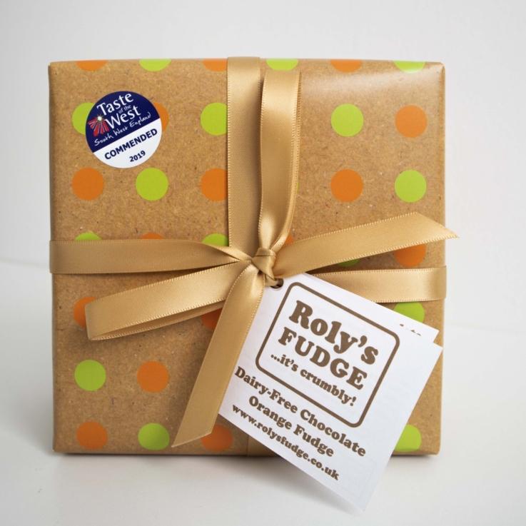 Vegan Chocolate Orange Fudge Box