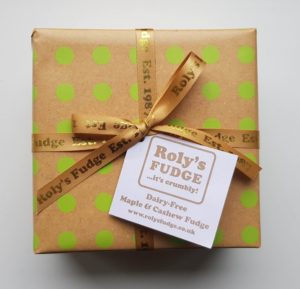 Dairy-Free Maple & Cashew Fudge - Vegan Society accredited