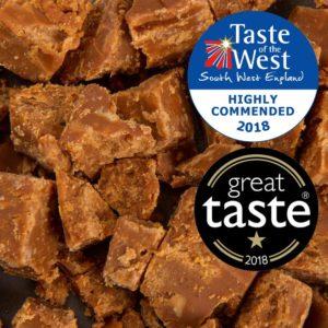 Dairy-Free Maple & Cashew Fudge - Vegan Society accredited