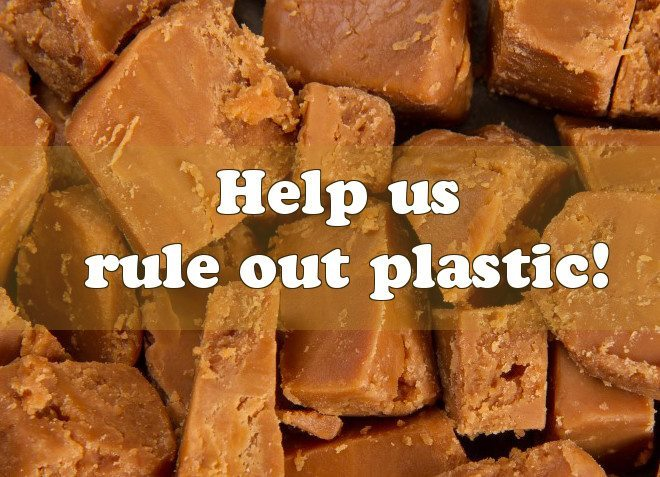 help Roly's Fudge rule out plastic!